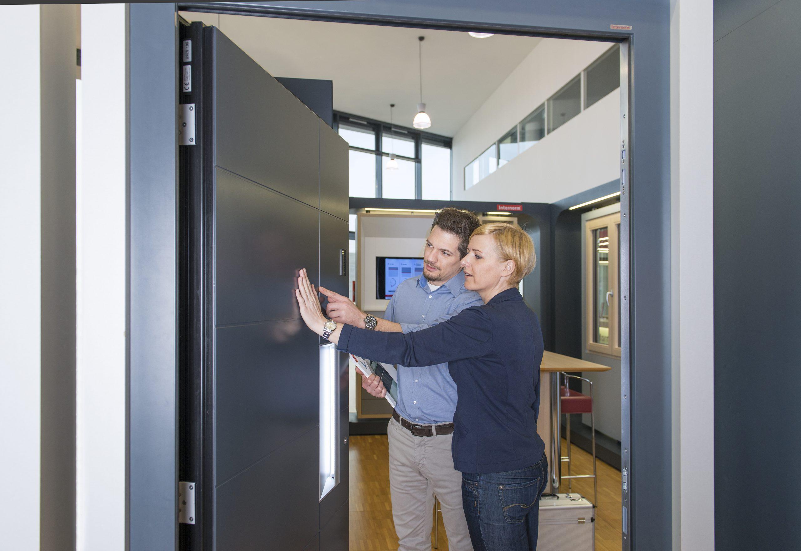 Premium Aluminium Front Entrance Doors