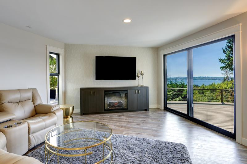 triple glazing interior