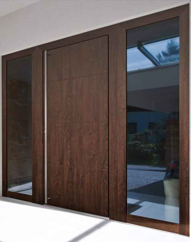 Timber Aluminium Entrance Doors Milton Keynes
