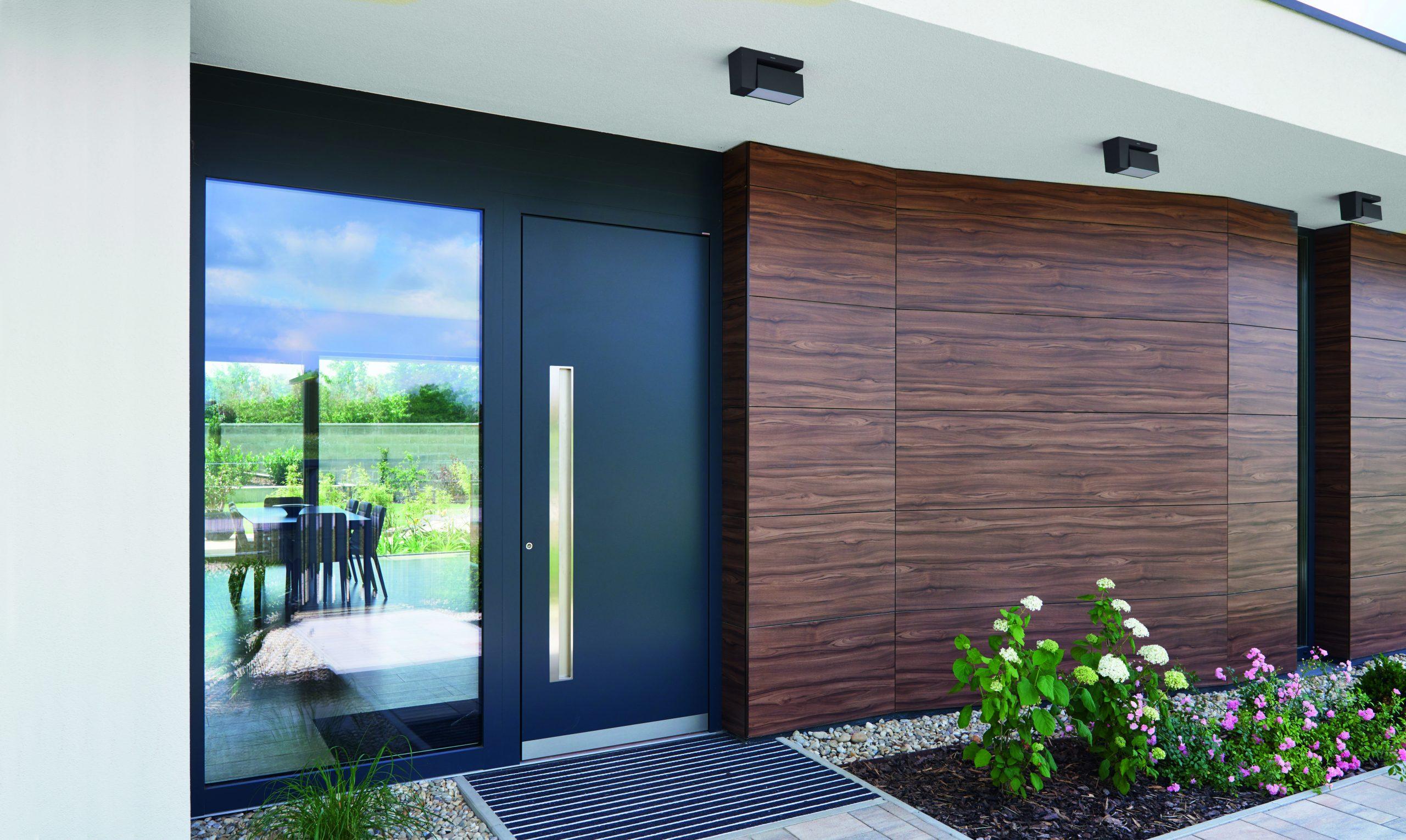 new build entrance doors milton keynes